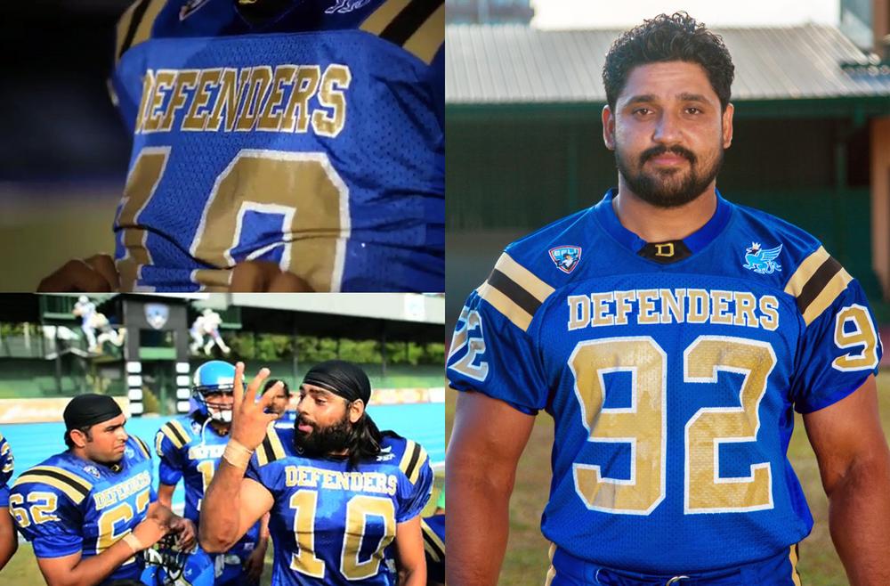 Delhi Defenders Uniform