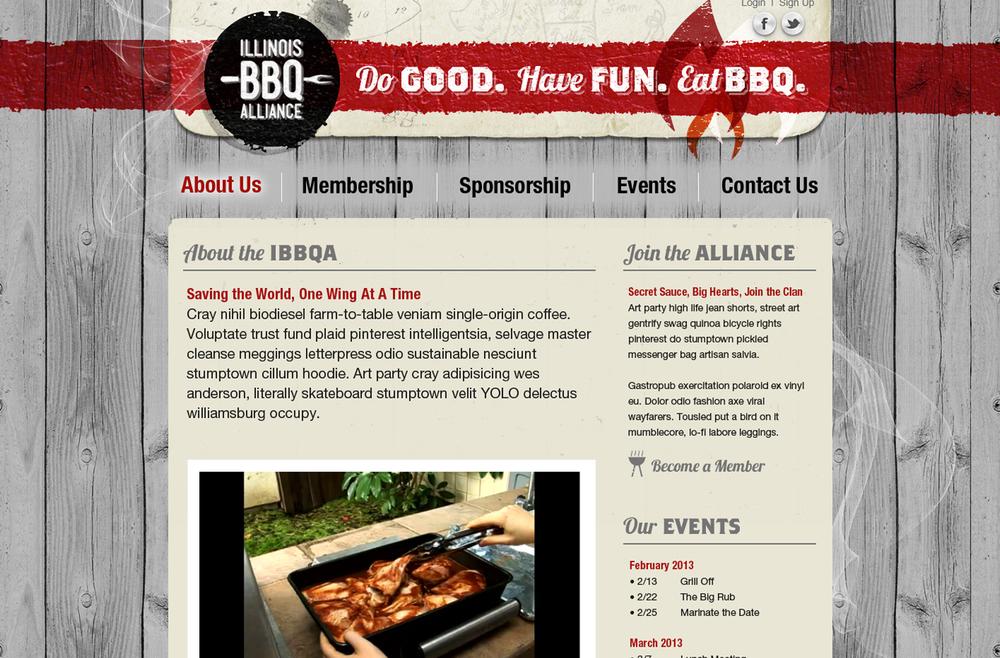 IBBQA.orgWeb Design