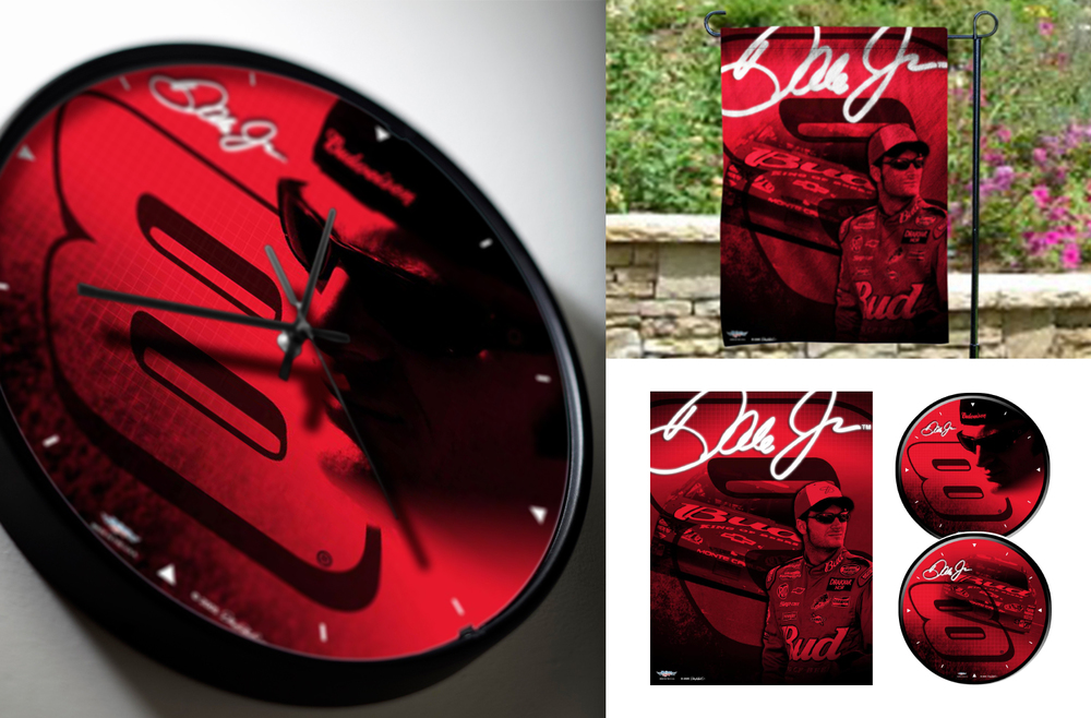 Dale Earnhardt, Inc. - Print Production - Clock, Outdoor Signage
