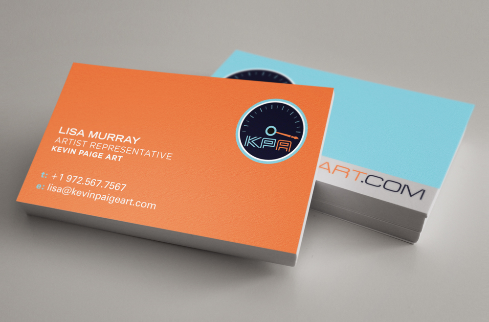 Kevin Paige Art Identity - Business Cards