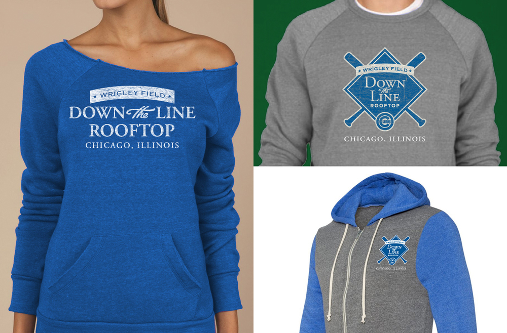 Down The Line Rooftop - Apparel Design