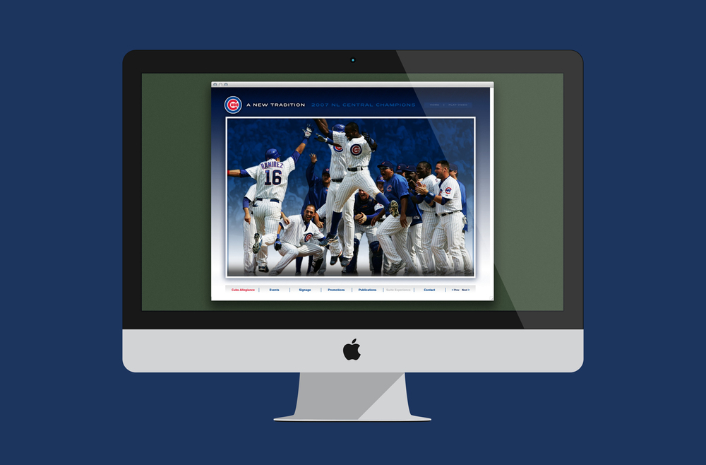 Chicago Cubs Interactive Marketing Presentations