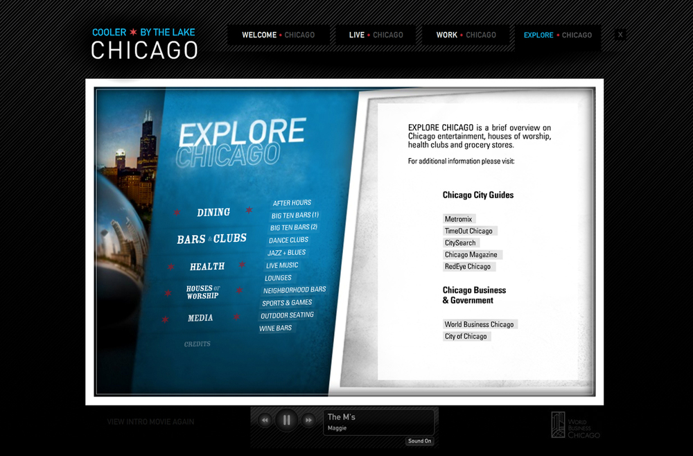 World Business Chicago - Cooler By The Lake website