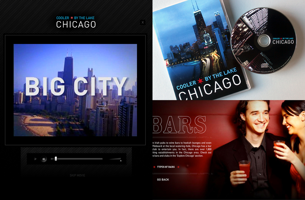 World Business Chicago - Cooler By The Lake - Video, CD-ROM Packaging, and Website