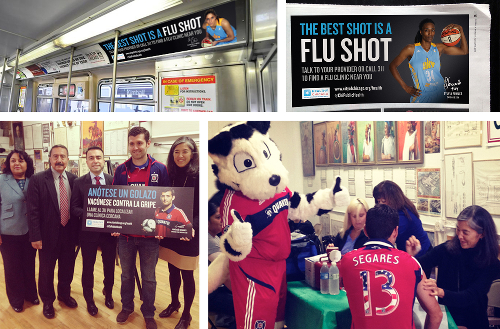 Healthy Chicago - 2013 Flu Shot Awareness Campaign