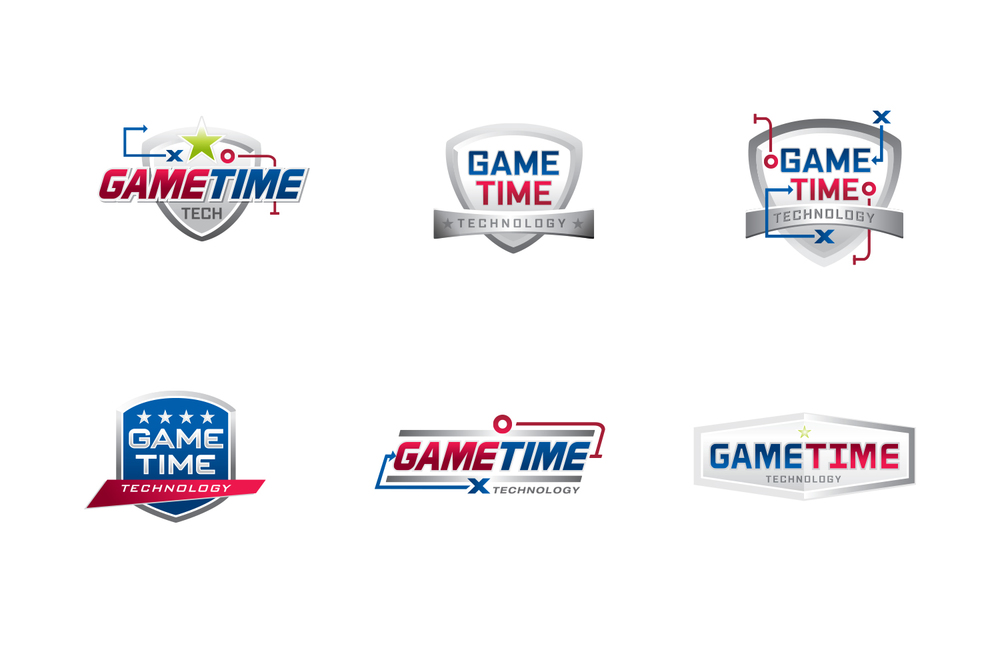 Game Time Technology Logo Design