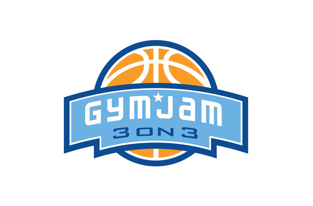 Gym Jam 3 on 3 Logo Design
