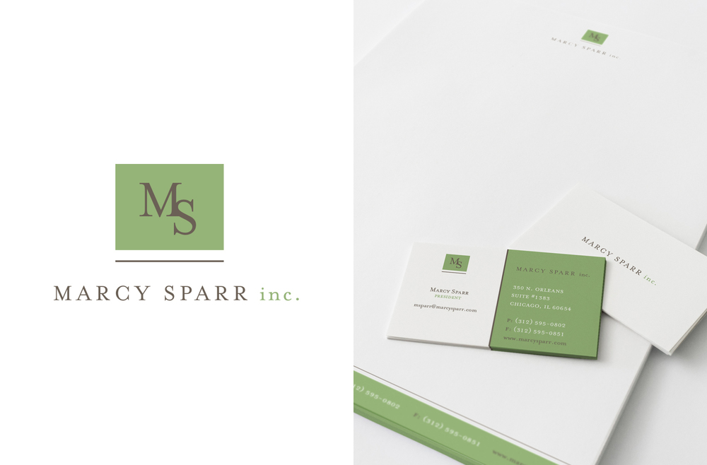 Marcy Sparr inc.Logo Design