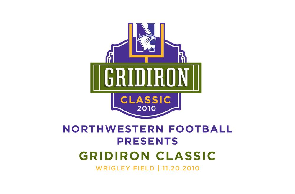 Northwestern - Gridiron ClassicLogo Design
