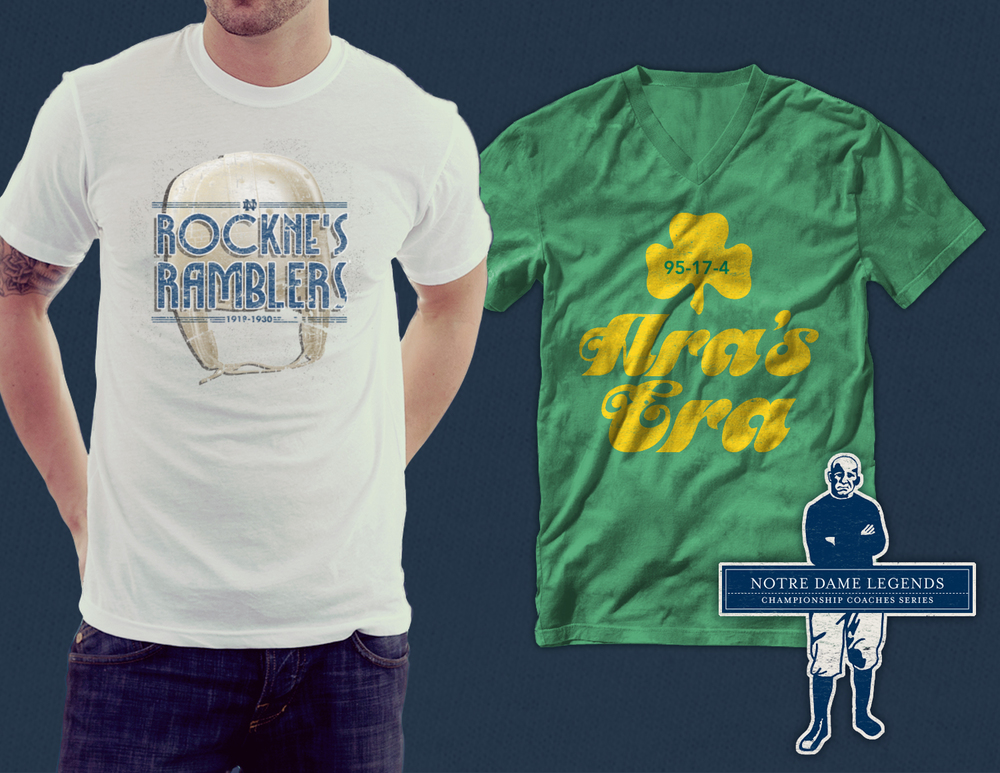 Moonlight Graham | Notre Dame Campus Wear Collection - Apparel Design