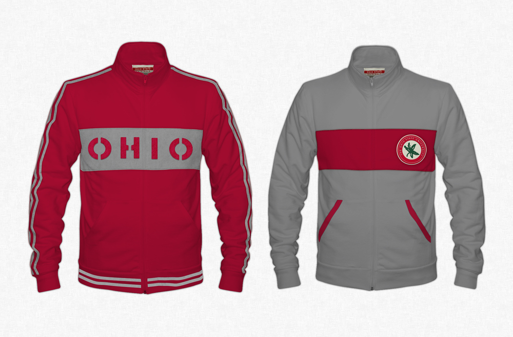 Ohio State Originals Collection - Zip Up Jacket