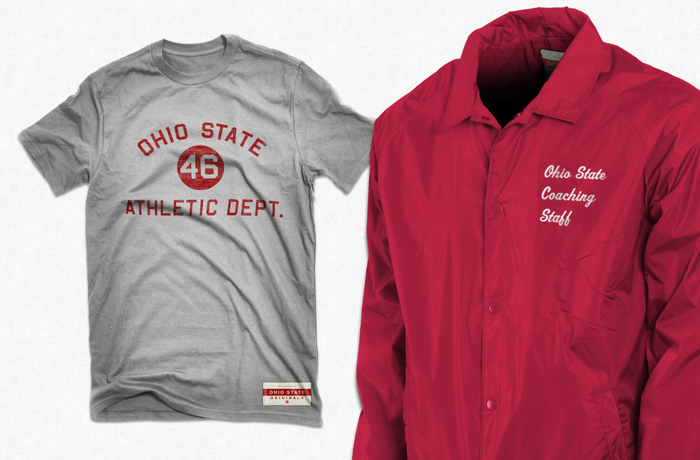 Ohio State Originals Collection - T-Shirt, Button Up Jacket