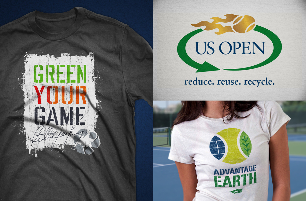 US Open Apparel Design and Logo Design