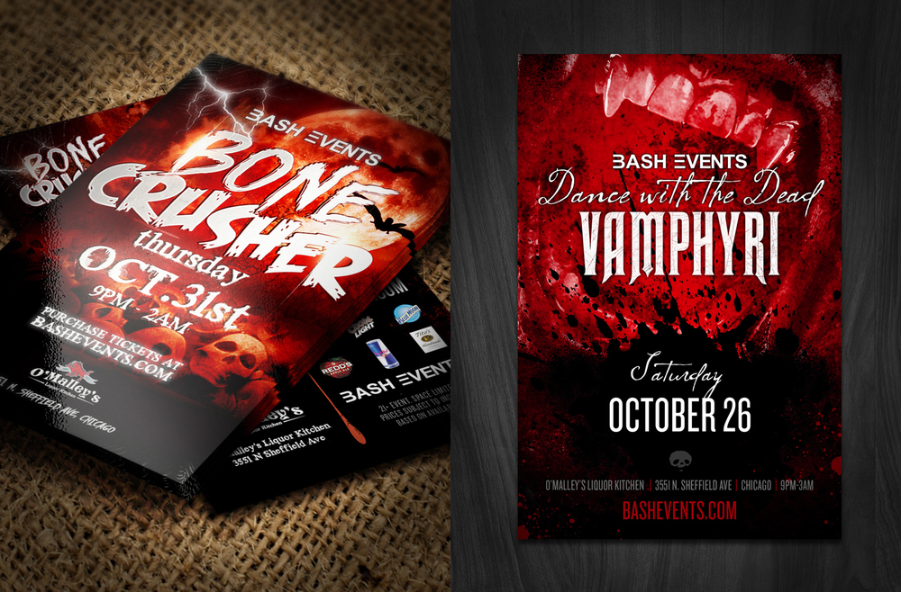 Bash Events - Halloween Flyer