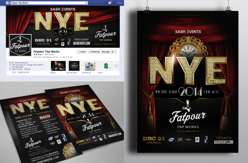 Bash Events - New Year's Eve Flyer