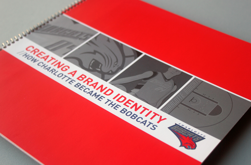 View the Charlotte Bobcats Brand Identity Book >