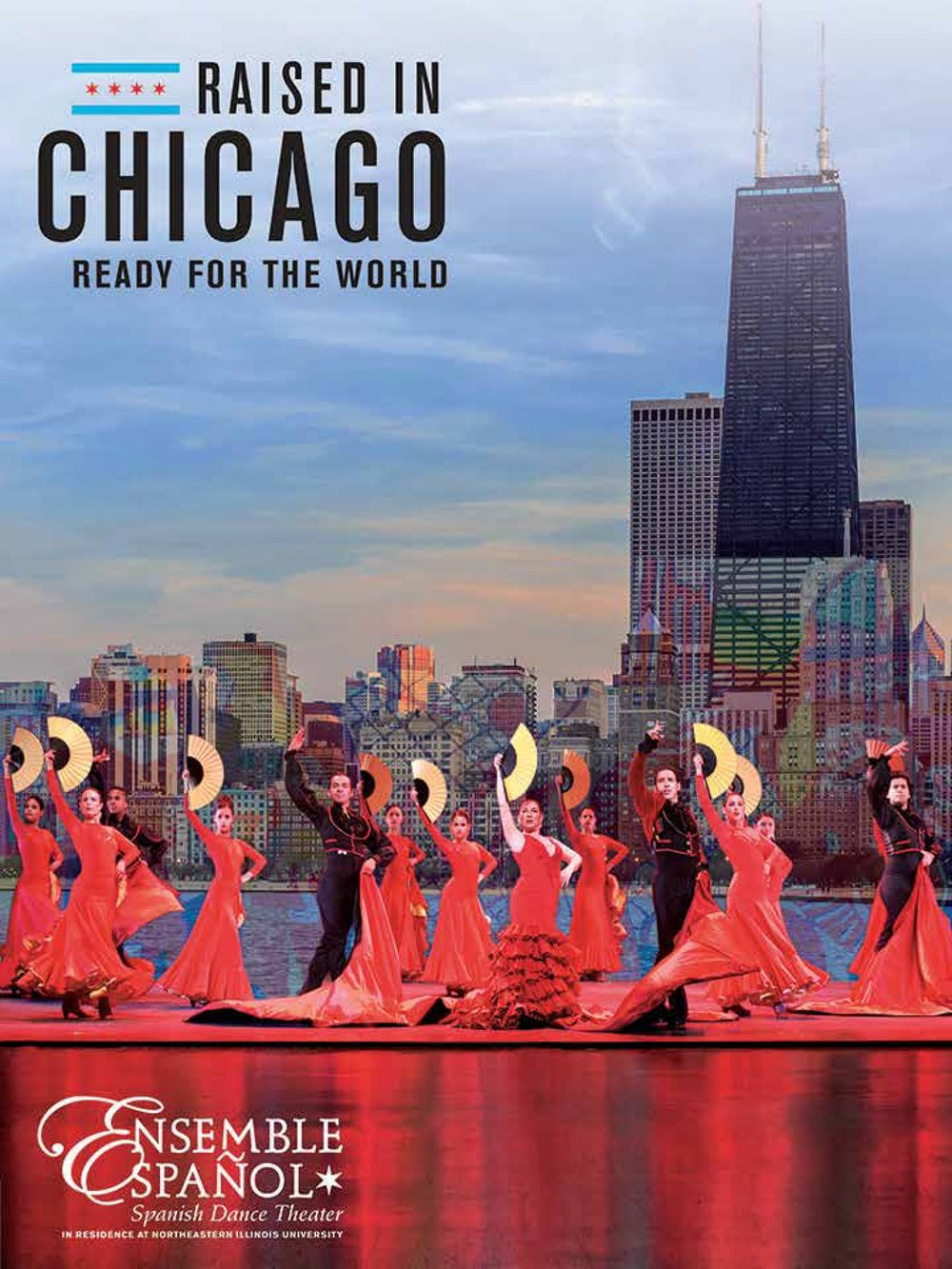 Raised in Chicago, Ready for the World Official Poster