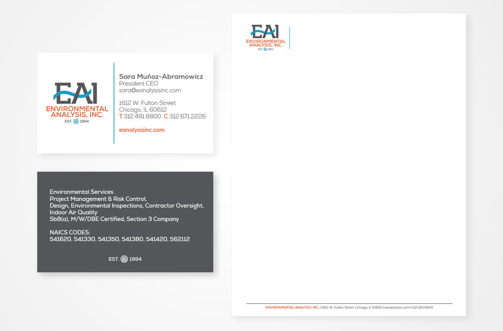 EAI Stationery Design