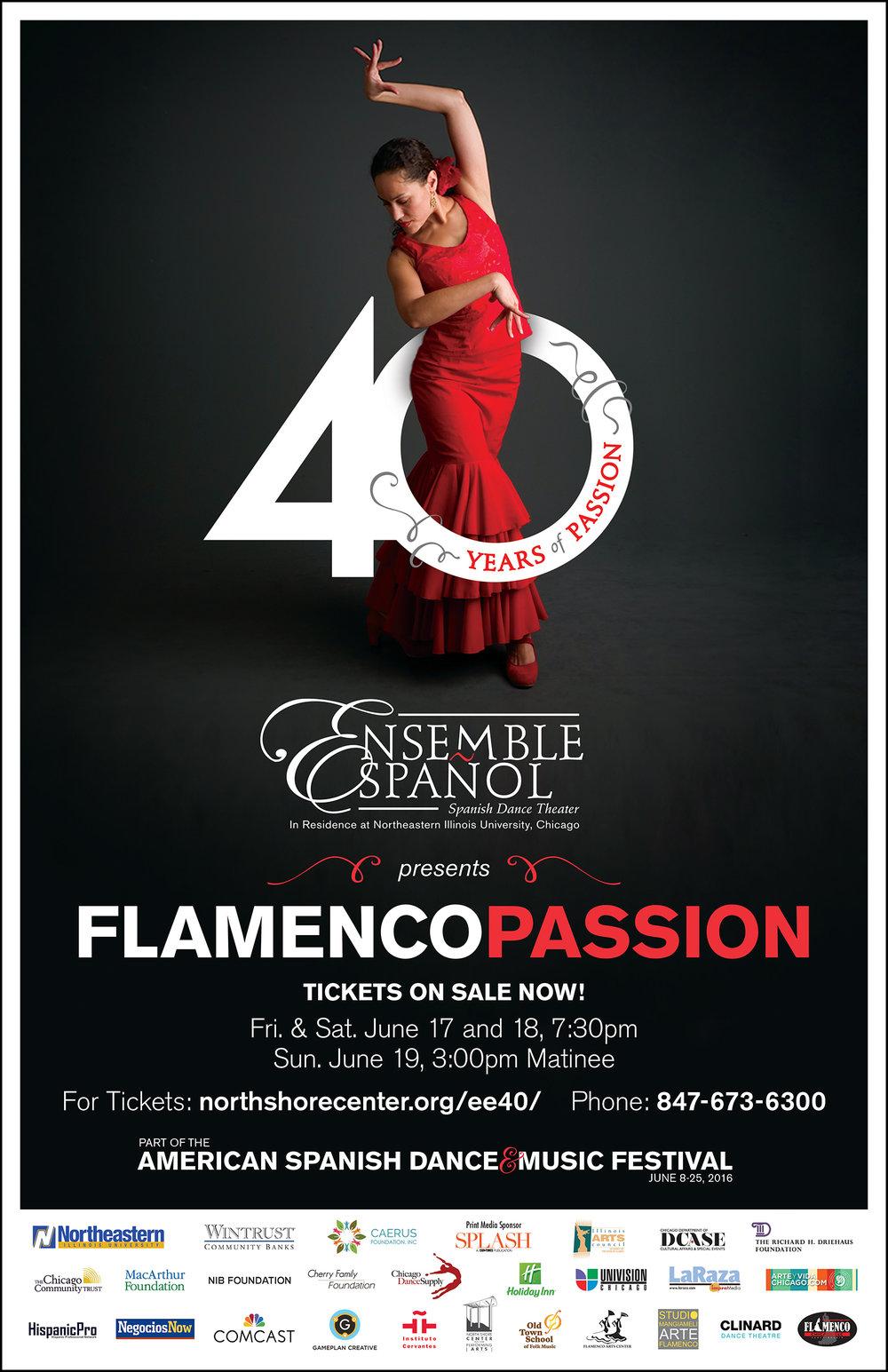 Flamenco Passion Poster