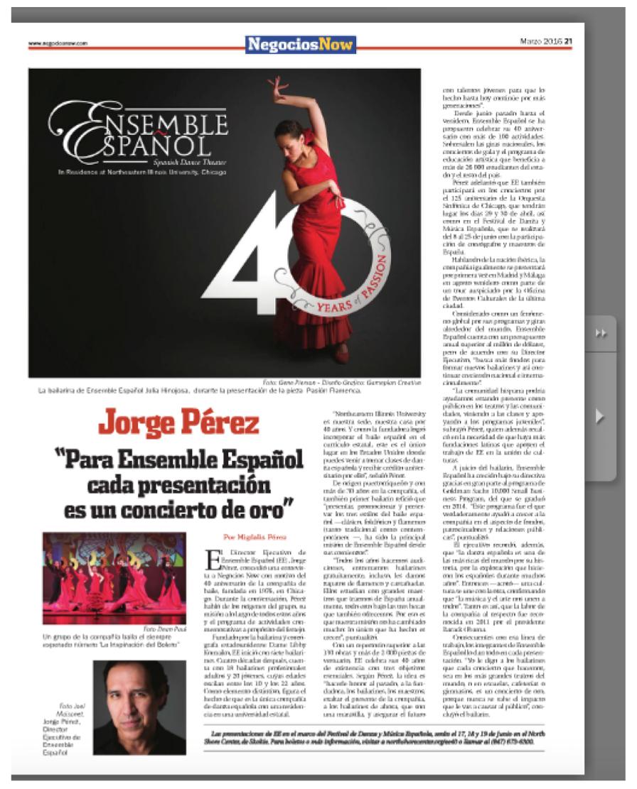 Flamenco Passion Sponsored by NegociosNow