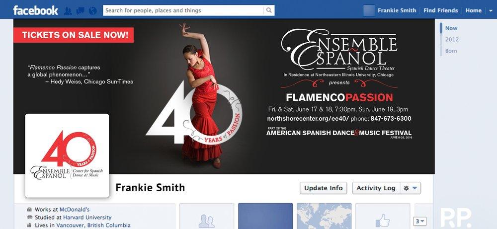 Flamenco Passion Facebook Banner