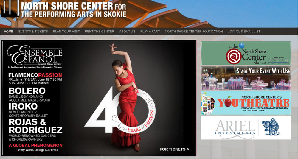 Flamenco Passion Splash Page