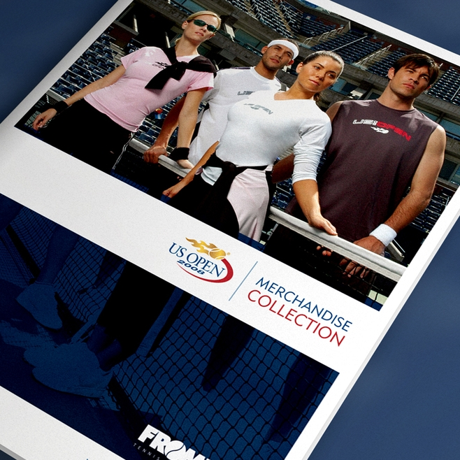 US OPEN TENNIS CATALOG