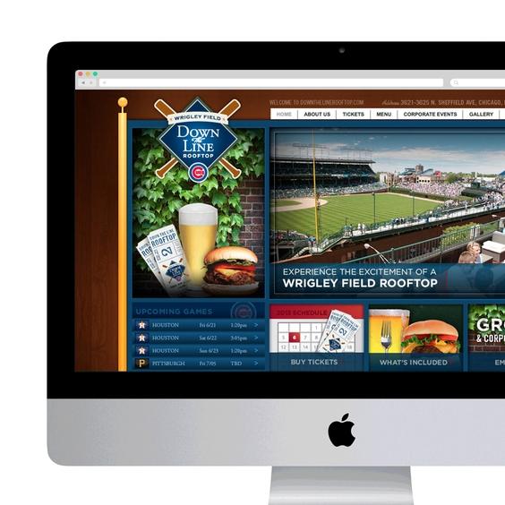 DTLROOFTOP.COM WEB DESIGN