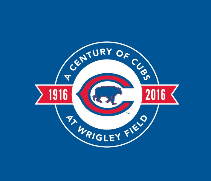 Chicago Cubs - A Century of Cubs at Wrigley Field - Logo Design