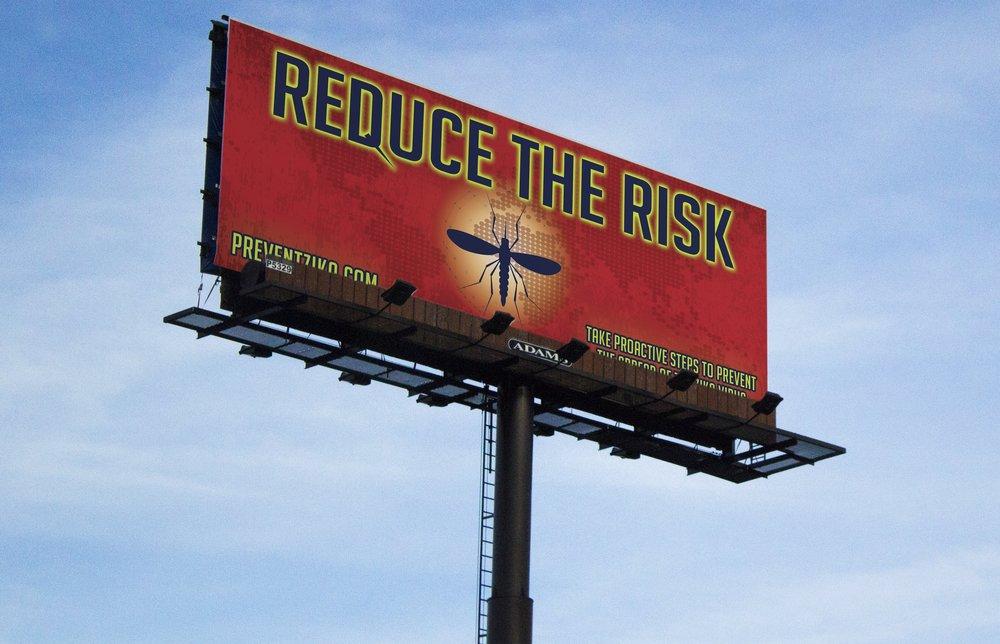 ZIKA Billboard Ad