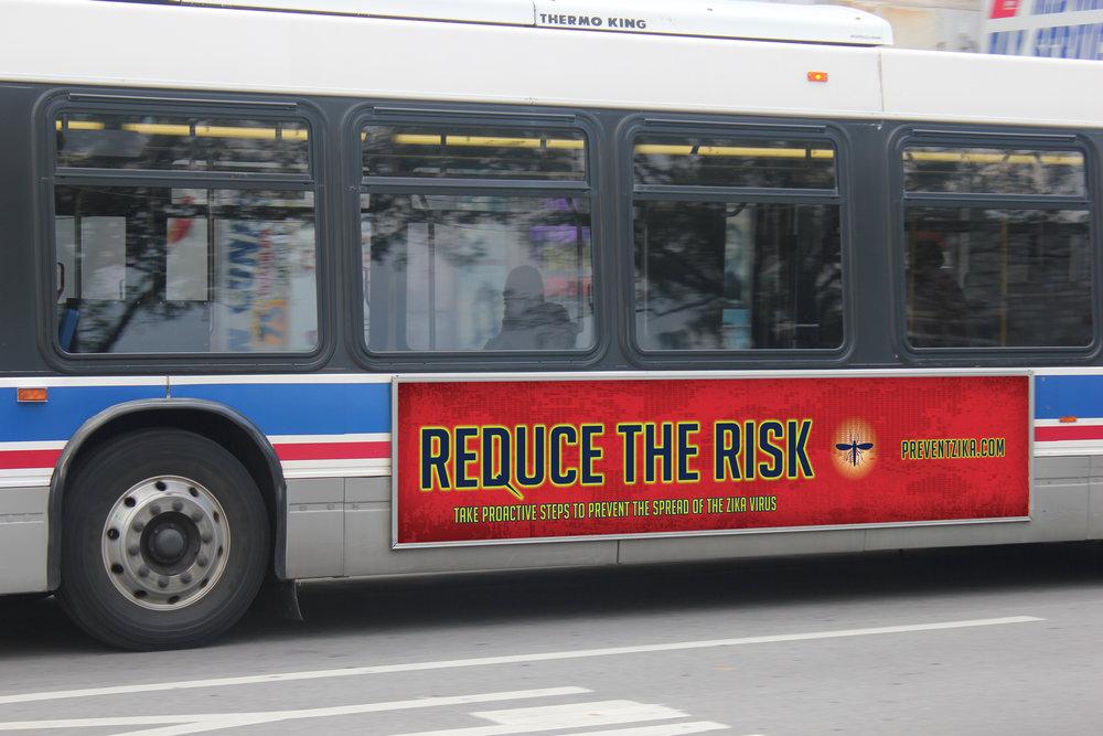 ZIKA Bus Ad
