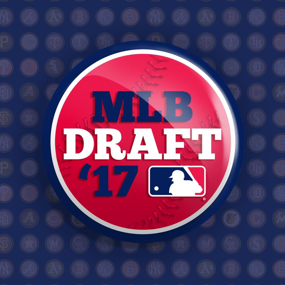 MLB Draft Logo Design