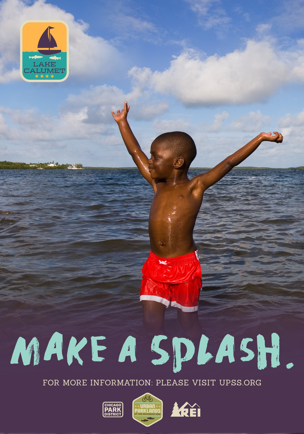 Chicago Park District Make a Splash Ad