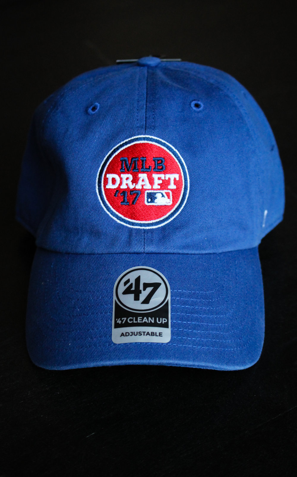 MLB Draft Logo Design on Cap