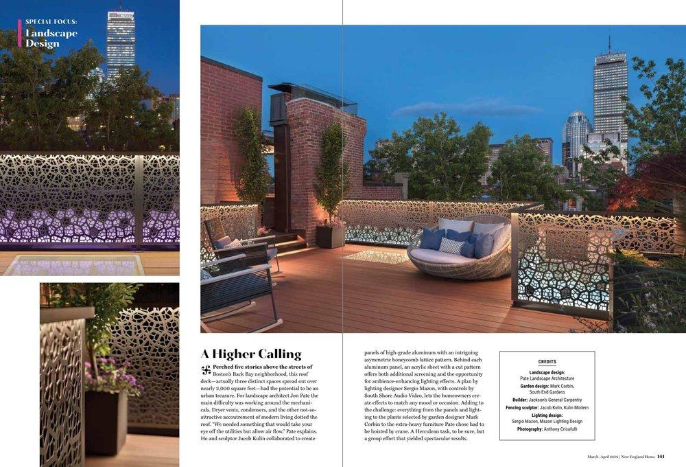 Pate Landscape Architecture Roof Deck