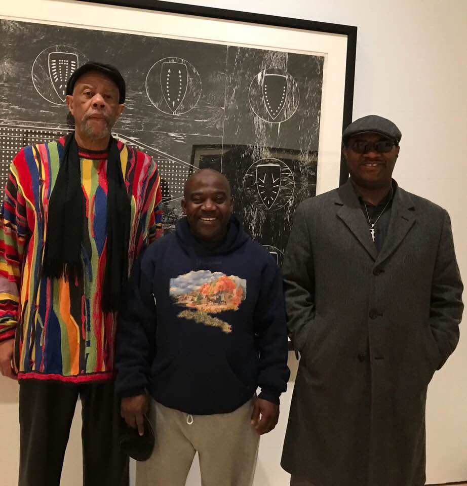 Clark Kofi and Ran with Willie Cole.jpg