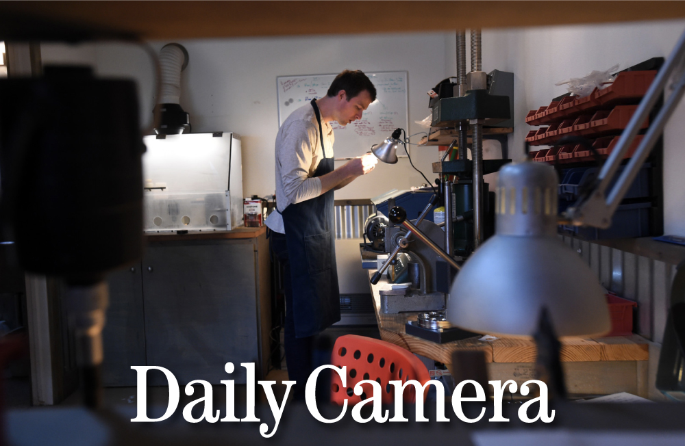 Article by the Daily Camera in Boulder on STEVEN JACOB and handmade rings.   Click to read.