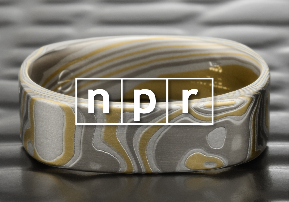 Crissa Hewitt and Steven deLuque visit with internationally recognized jeweler and metalsmith Steve Midgett on NPR - part 1.  Click to listen.