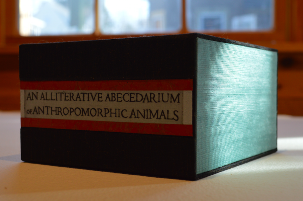 Alliterative Abecedarium Box