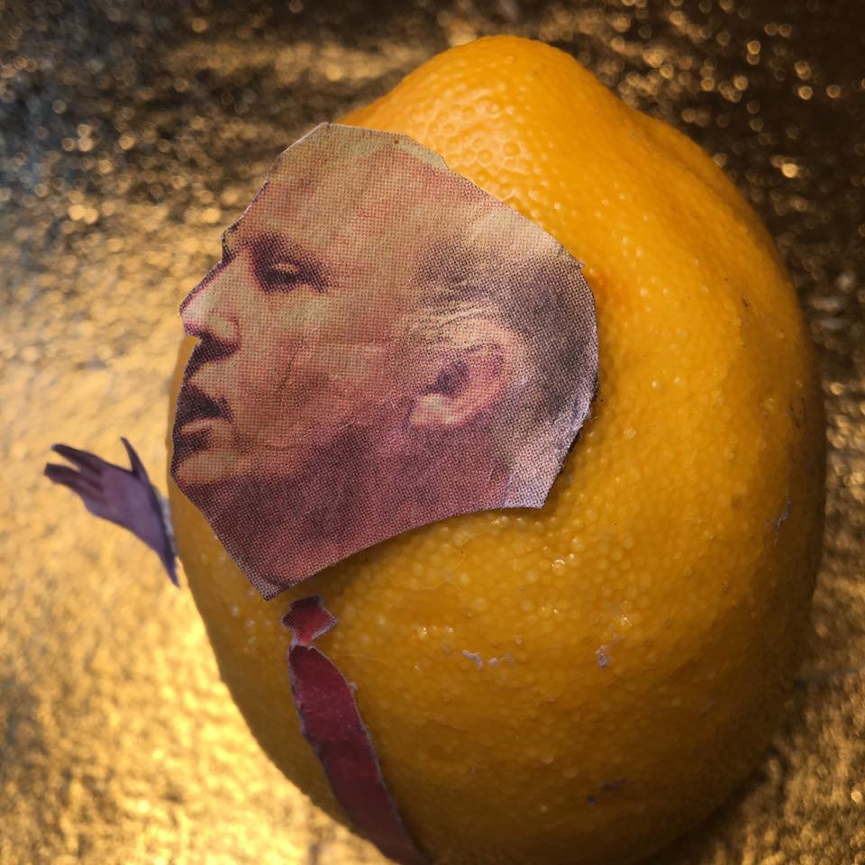 """2.7.17  More Lemon Verbatim... """"Let me ask you, [Mr. Lemon,] has the magnitude of this job hit you yet?"""" """"It has periodically hit me. And it is a tremendous magnitude. And where you really see it is when you're talking to the generals about problems in the world. And we do have problems in the world. Big problems. The business also hits because the — the size of it. The size."""" #Lemonlaw#Squeezethelemon#Zesty#DivestDonald"""