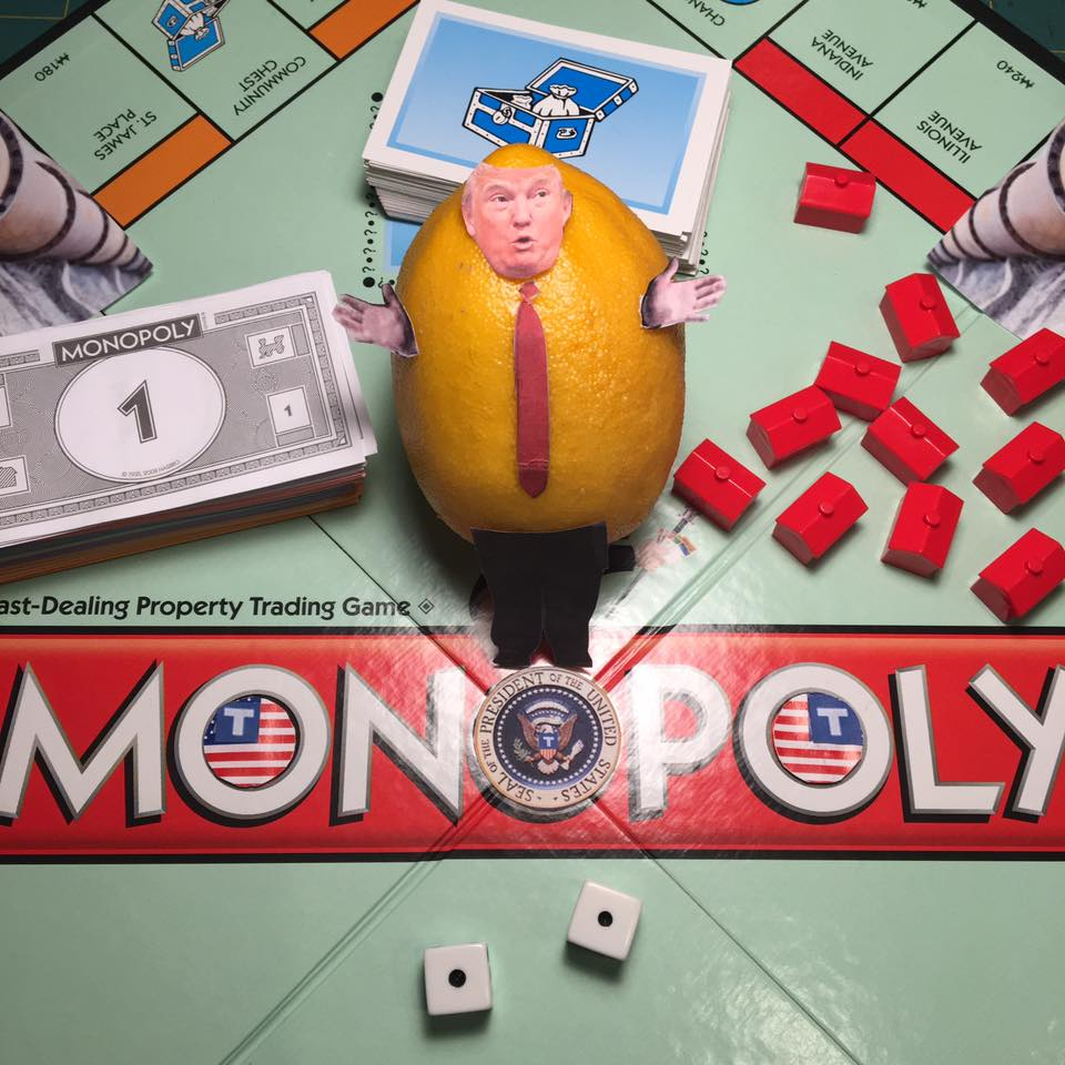 "2.9.17 Hotels on Pennsylvania Avenue... ""I have no conflicts of interest. As president, I am totally committed to making a tremendous amount of money."" #Lemonlaw #Squeezethelemon #Zesty#DivestDonald"