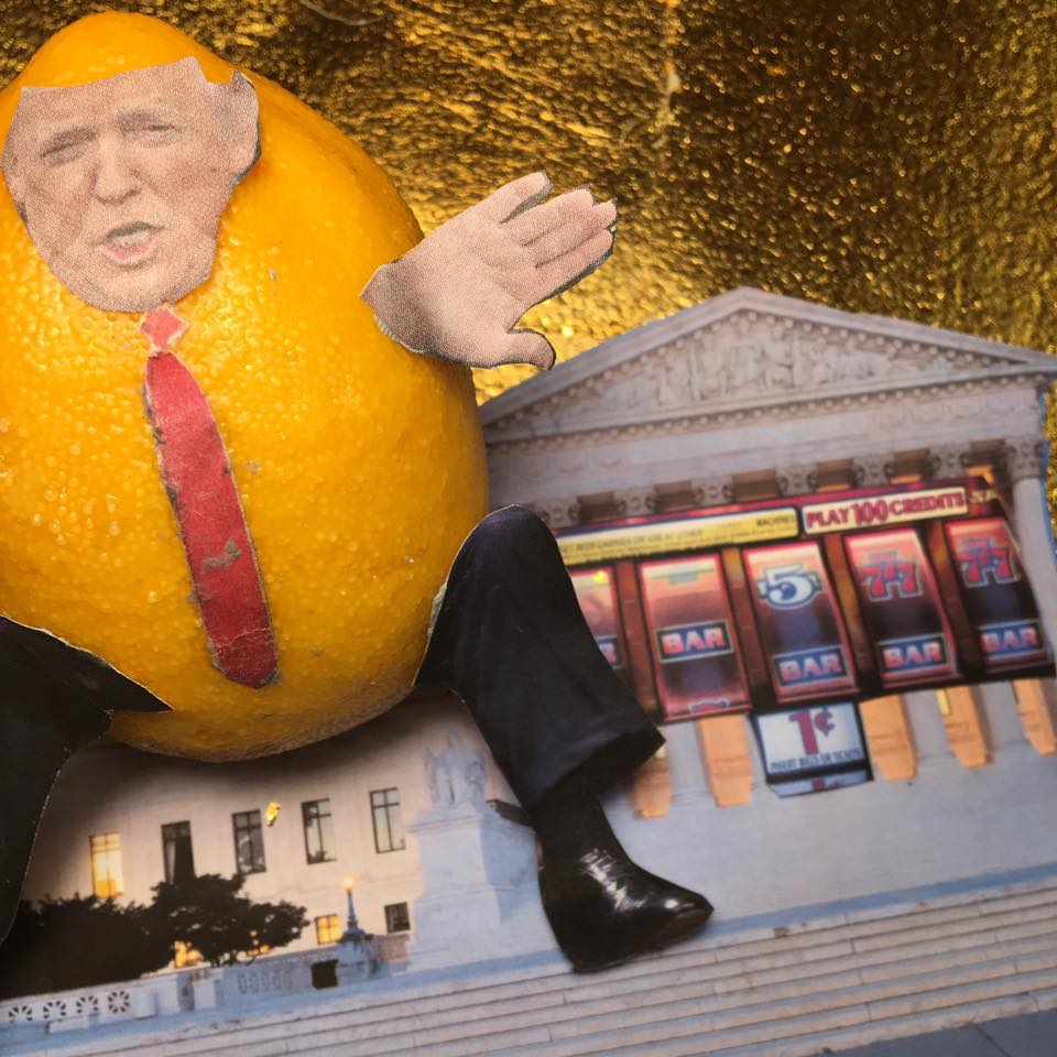 """2.11.17 Barred... """"Our legal system is broken! '77% of refugees allowed into U.S. since travel reprieve hail from seven suspect countries.' (WTf) SO DANGEROUS! I suspect I have no business interest in these countries."""" #Lemonlaw#Squeezethelemon#Zesty#DivestDonald"""