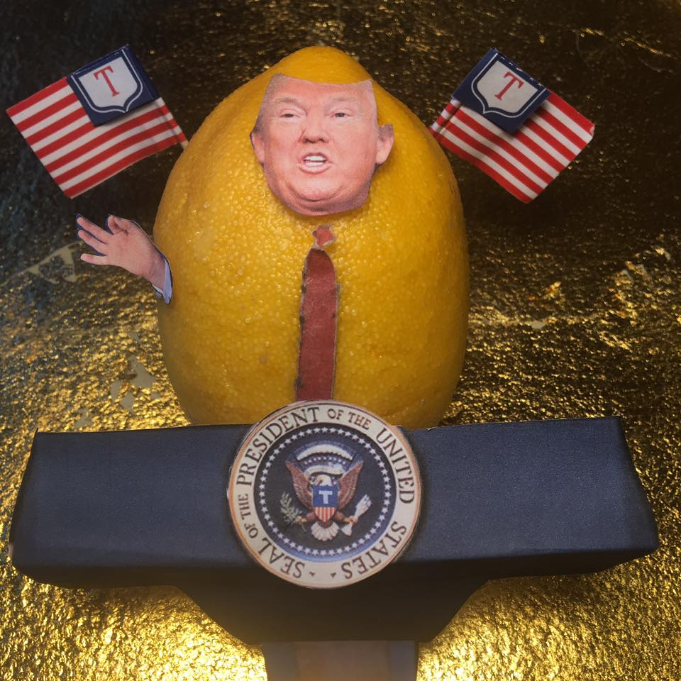 """2.17.17 Lemon v. Press (V is for Verbatim)... """"I don't think there's ever been a president elected who in this short period of time has done what we've done. """"Tomorrow, they will say, 'Donald Trump rants and raves at the press'. I'm not ranting and raving. I'm just telling you. You know, you're dishonest people. But – but I'm not ranting and raving. I love this. I'm having a good time doing it. But tomorrow, the headlines are going to be, 'Donald Trump rants and raves.' I'm not ranting and raving. """"I turn on the T.V., open the newspapers and I see stories of chaos. Chaos. Yet it is the exact opposite. This administration is running like a fine-tuned machine, despite the fact that I can't get my cabinet approved. """"And I'll tell you what else I see. I see tone. You know the word 'tone'. The tone is such hatred. I'm really not a bad person, by the way. No, but the tone is such – I do get good ratings, you have to admit that – the tone is such hatred. """"And I said to myself, you know - and I said to somebody that was in the room, I said 'you take a look at Reince, he's working so hard just putting out fires that are fake fires.' I mean, they're fake. """"And the leaks are absolutely real. The news is fake because so much of the news is fake. """"I've been briefed. And I can tell you one thing about a briefing that we're allowed to say, because anybody that ever read the most basic book can say it, nuclear holocaust would be like no other."""" #Lemonlaw#Squeezethelemon#Zesty#DivestDonald"""