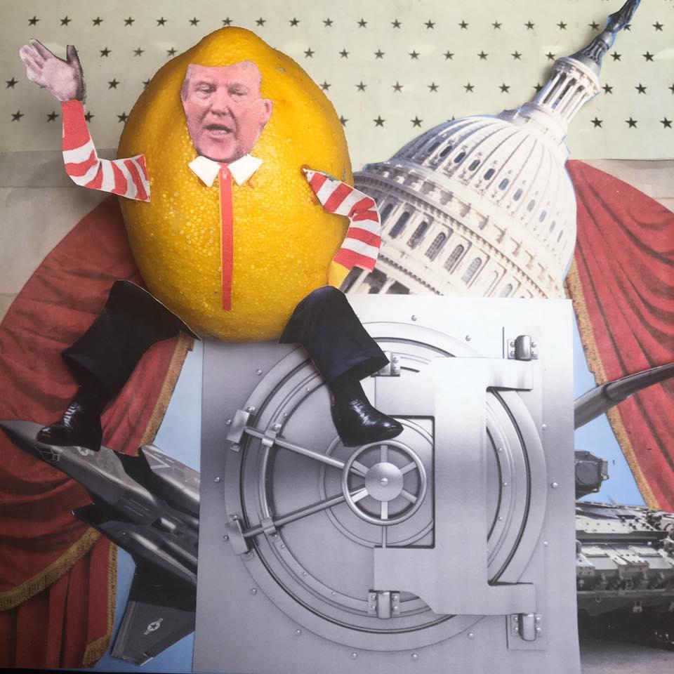 "2.28.17 Capital Building… ""This budget follows through on my promise to keep Americans' safe,"" #Lemonlaw#Squeezethelemon#Zesty#DivestDonald"