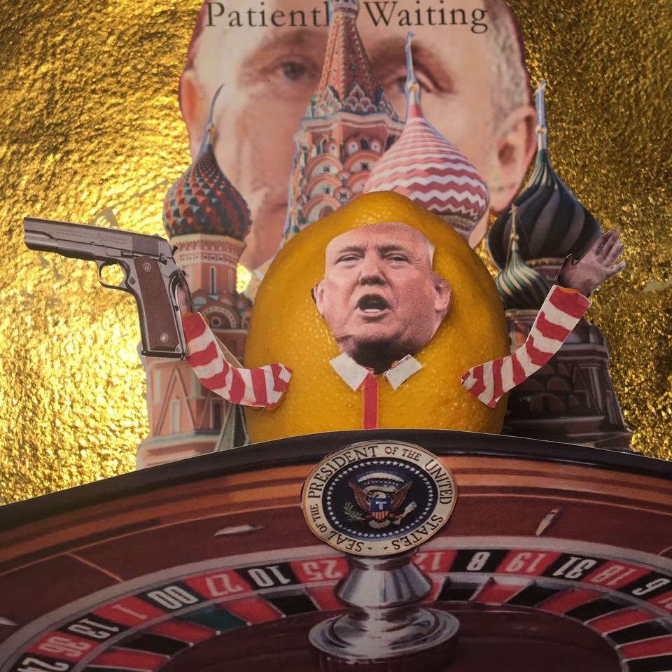 "3.25.17 Lemon Verbatim Plays Russian Roulette with Republicans... ""Guys, we've got one shot here."" ""Look, I'm a team player, I've played this team."" #Lemonlaw #Squeezethelemon #Zesty#DivestDonald"