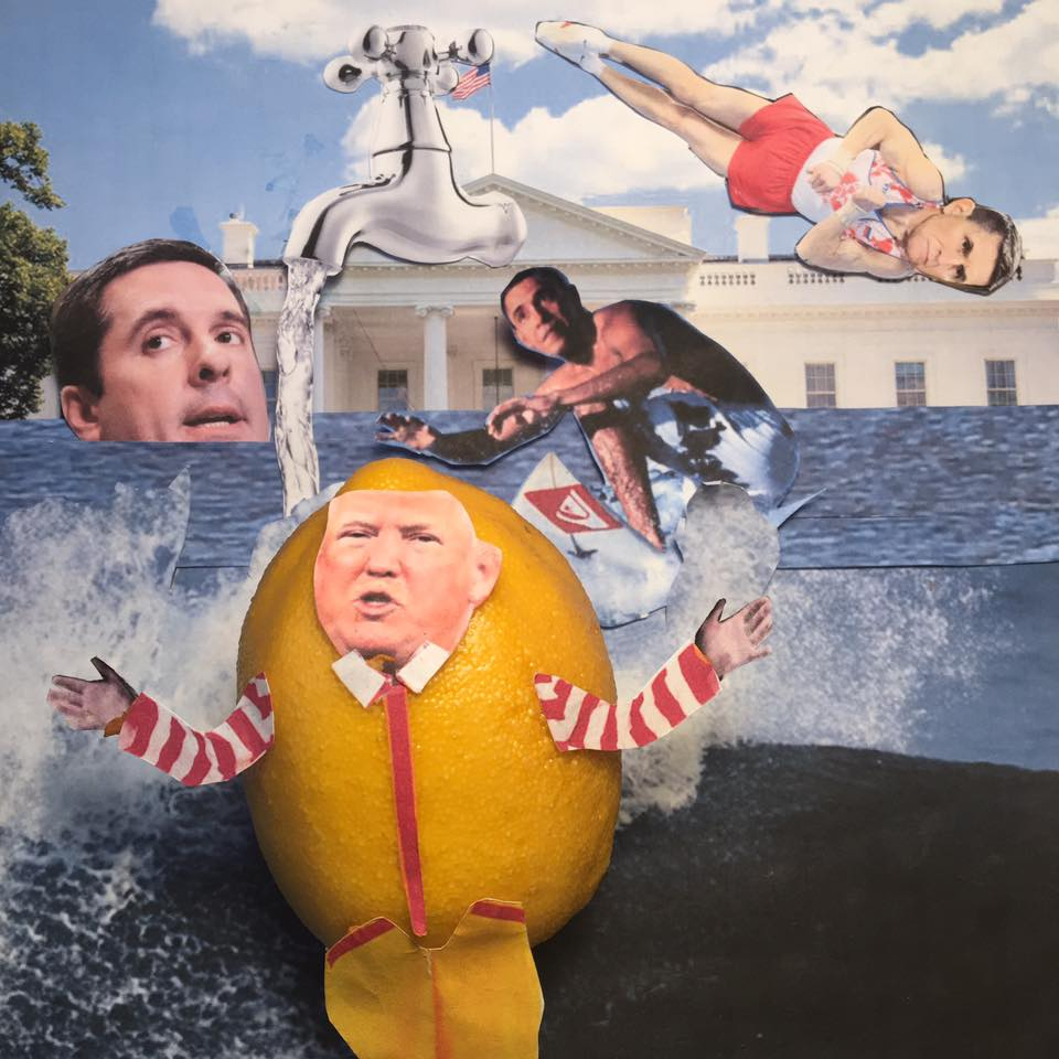 "4.2.17 Source... ""The real story turns out to be the Tapper left the Tap running. Lots of LEAKING! Find the Leakers."" #LemonLaw #SqueezeTheLemon #Zesty#DivestDonald"