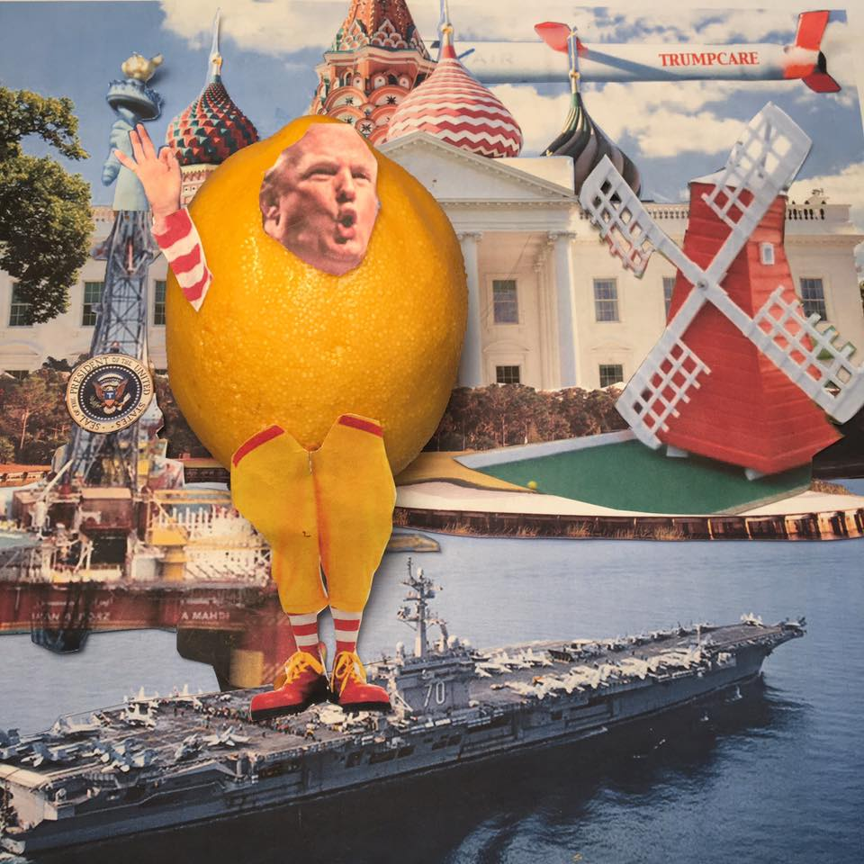 """4.29.17 The Ingenious Queens-Born Noble Don Quixotic of Mar-a-Lago """"I thought it would be easier."""" #LemonLaw#SqueezetheLemon#DivestDonald"""