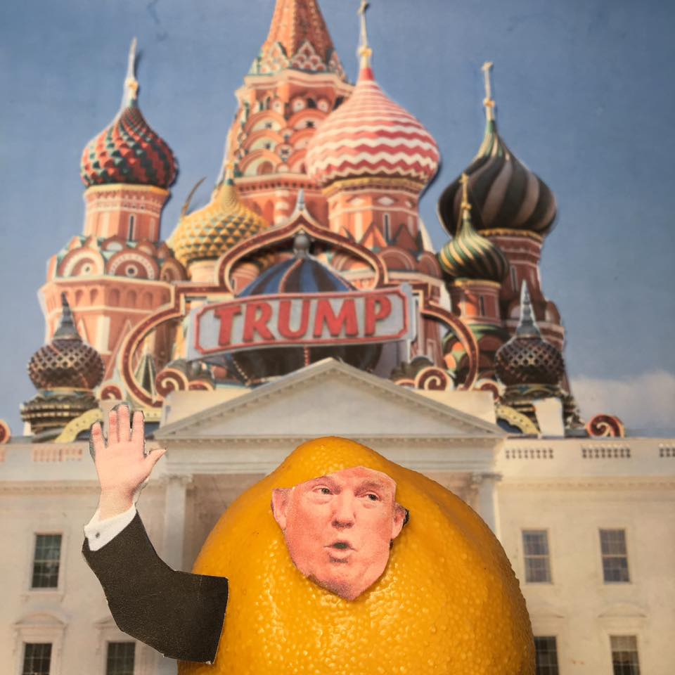 """5.8.17 The End of the Deal... """"The Russia-Trump collusion story is a total hoax. It was Not collusion when I took their money. If you look at how I do business, I usually don't make good on my end of the deal."""" #LemonLaw"""