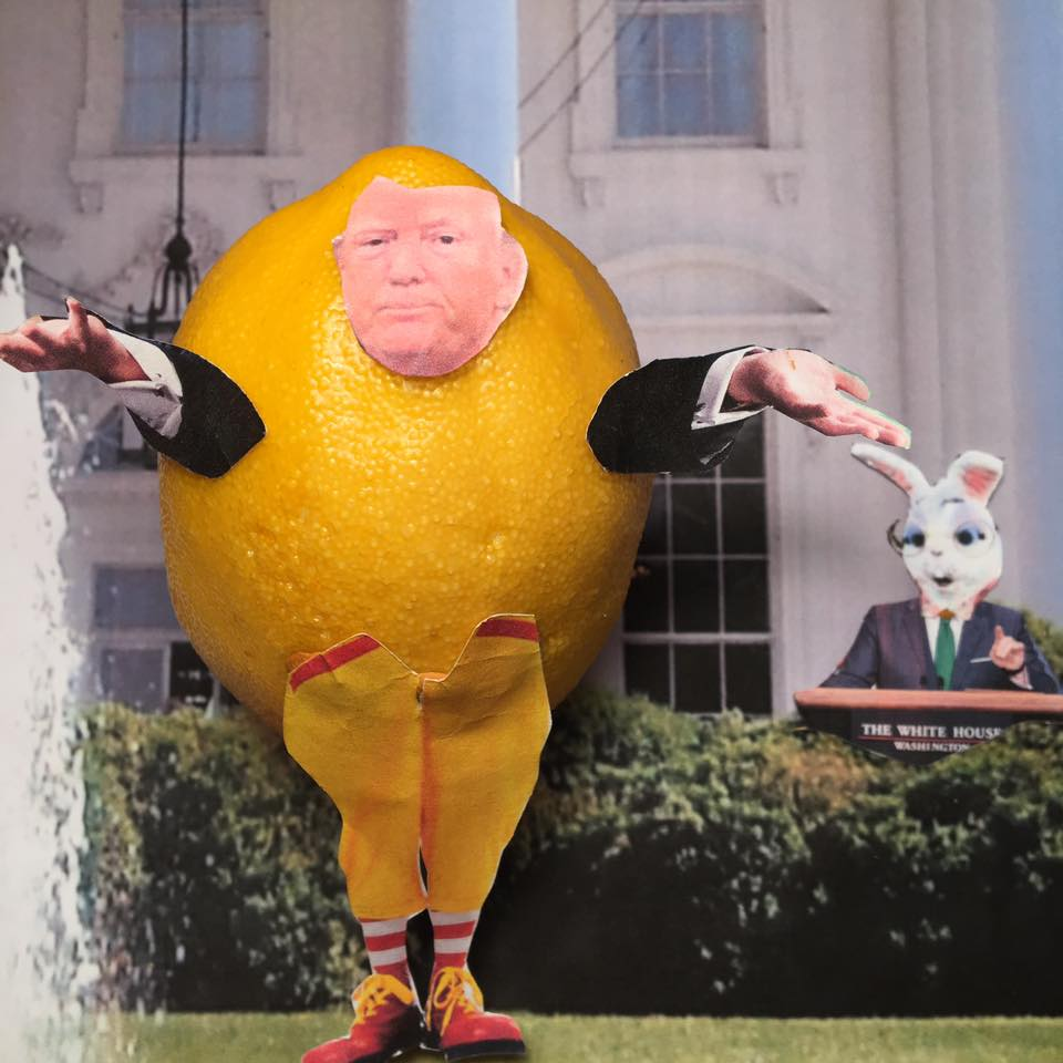 """5.12.17 Lemon Verbatim Hedges His Bets... """"As a very active President with lots of things happening, it is not possible for my surrogates to stand at podium with perfect accuracy! Maybe the best thing to do would be to cancel all future """"press briefings"""" and hand out written responses for the sake of accuracy???"""" #LemonLaw"""