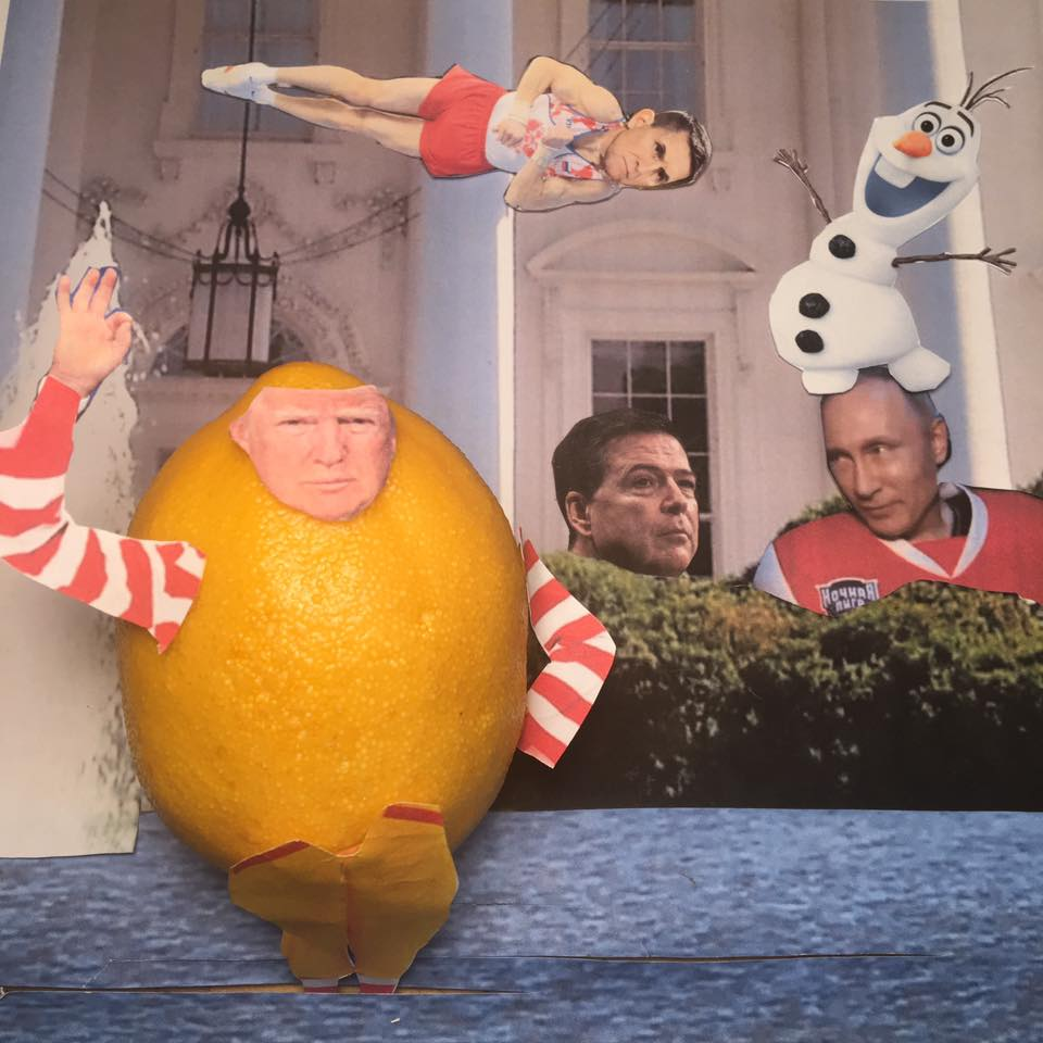 """5.16.17 Conceal, don't feel, don't let them know Well now they know Let it go, let it go... """"I hope you can see your way clear to letting this go, to letting Flynn go. Otherwise I may have to let you go, Comey. I have to go."""" #LemonLaw#DivestDonald"""